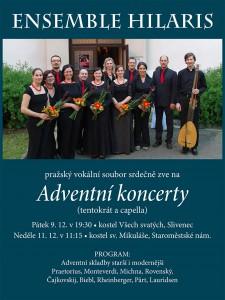 Adventní koncert @ Kostel Všech svatých, Praha-Slivenec | Praha | Hlavní město Praha | Česká republika